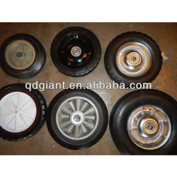 profession supply plastic/steel rim solid wheel 8*1.75