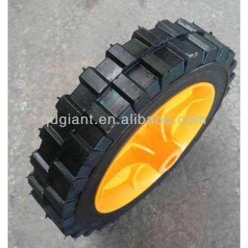 "semi-pneumatic lawnmower wheel 8x1.75"""