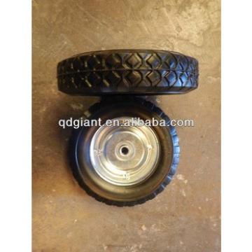 supply metal rim ball bearing solid wheel 8*1.75