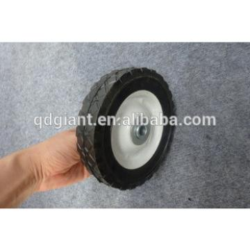 """6"""" x 1.5"""" Solid Rubber Tires With Metal Rims Lawn Mower Tractor Industrial"""