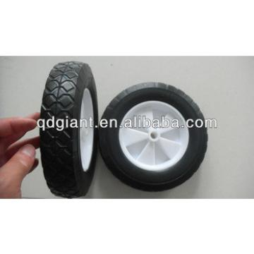 Folding cart solid rubber wheel 8x1.75