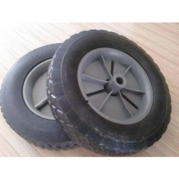 supply durable solid wheel 8*2.5 for construction trolley