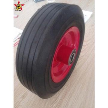 building hand trolley rubber solid wheel 8*2.5