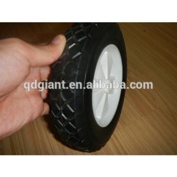 "8""x1.75"" kids wagon solid wheel with poly rim"