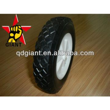 """8"""" children's wagon solid rubber wheel with PP rim"""