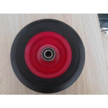 trolley metal rim solid wheel 8*2.5 used for industrial