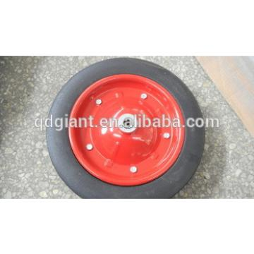"low price solid rubber wheel 13""x3"" use for wheelbarrow"