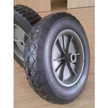 supply steel/plastic rim solid wheel 8*1.75