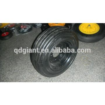solid rubber wheel 400x8