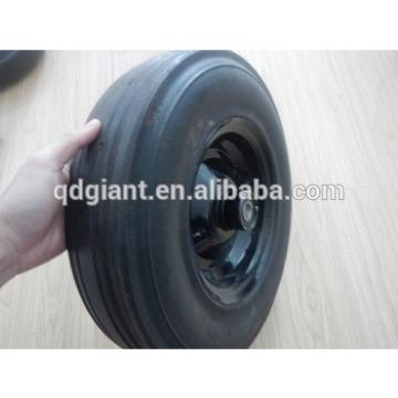 """solid rubber wheels for concrete mixer 16""""x4"""""""