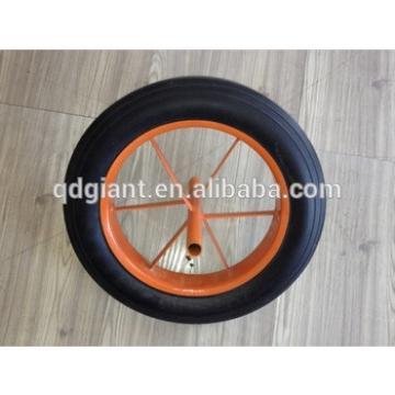 solid inner rubber wheel 14X4