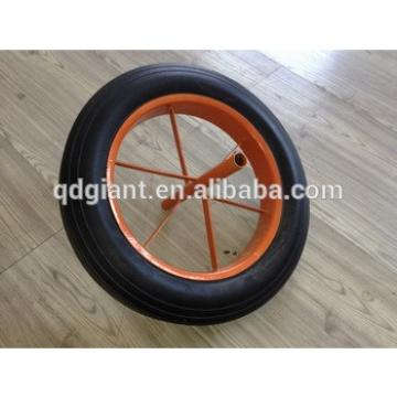 China High Quality Cart Wheel Solid Rubber Tires 14x4