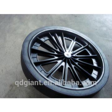 300mm diameter solid Garbage bin wheel