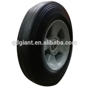 """8"""" Inch Replacment Solid Hard Rubber Tyre Wheel And Rim For Trolley Hand Cart"""