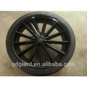 250mm diameter Garbage bin wheels
