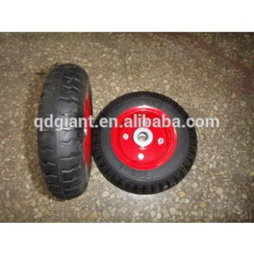 Solid rubber wagon wheels 2.50-4