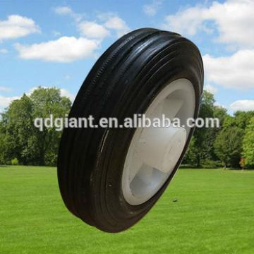 4inch Small Rubber Solid Wheel for Shopping Cart