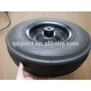 "Solid Concrete Mixer Wheel 16""X4"""
