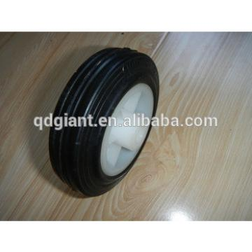 4 inch solid rubber wheel for tool carts