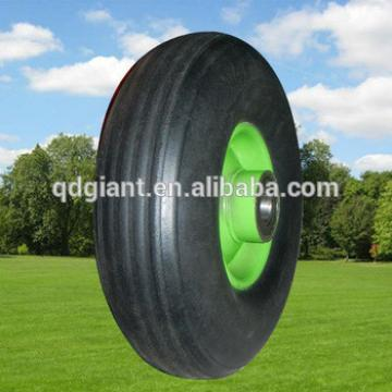 9 inch solid rubber wheel for trolley