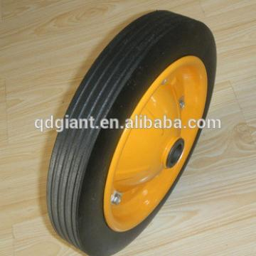 13inch wheelbarrow solid rubber wheel for PROMOTION