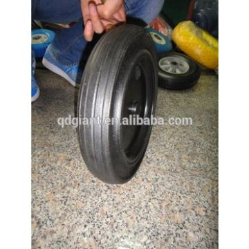 12 inch solid rubber wheels used for dustbin