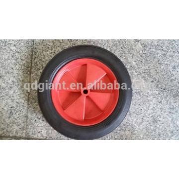 "10"" inch solid rubber wheelbarrow wheel/barrow tyre on inner tube needed"