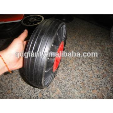 """250mm solid rubber wheel 10""""x3"""""""