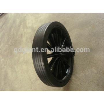 Industrial plastic bins with wheels