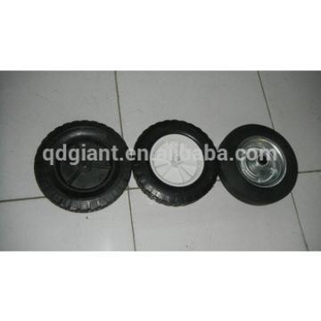 Rubber wheels for trash bin