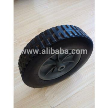Toy car solid rubber wheel
