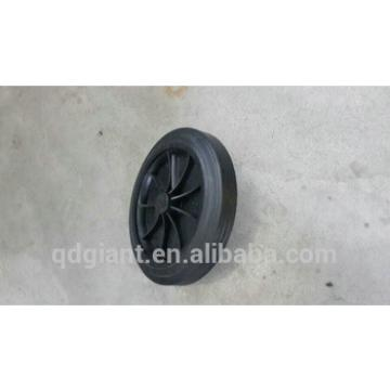 100L/120L dust bin rubber wheels 195mm