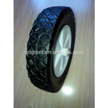 Plastic wheels for folding beach cart
