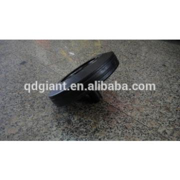 8 inch solid rubber wheels for trash bin