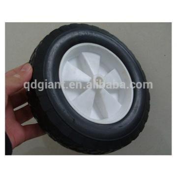 Toy car solid rubber wheels with plastic rim 8inch