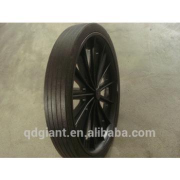 Recycle rubber garbage bin wheel 300mm