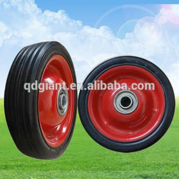 small solid rubber wheel 5inch