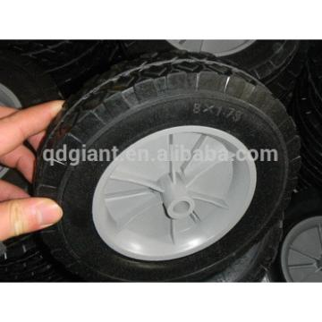 "8:x1.75"" plastic wheels for folding sporting wagon"