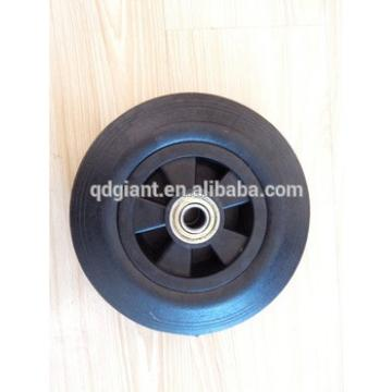 Rubber wheels 200mm for garbage cans