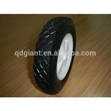 Medical cart solid rubber wheel 8 inch