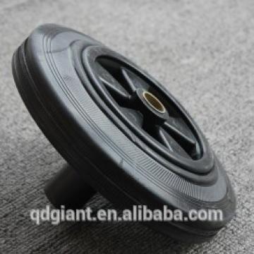 Industrial 4 wheels trash bins tire 200x50mm