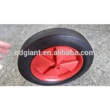 10 Inch solid black rubber wheel tire 10x1.75