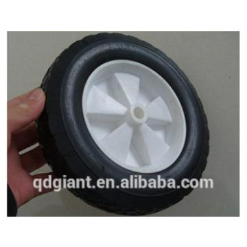 """8"""" solid rubber wheel for lawn mover"""
