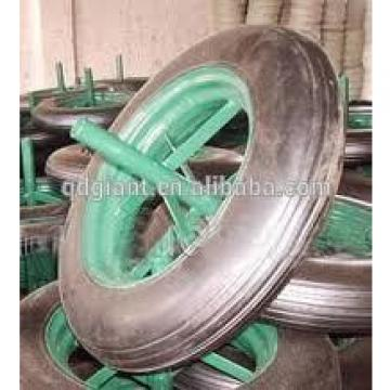 """14"""" solid rubber tyre for wheelbarrow"""