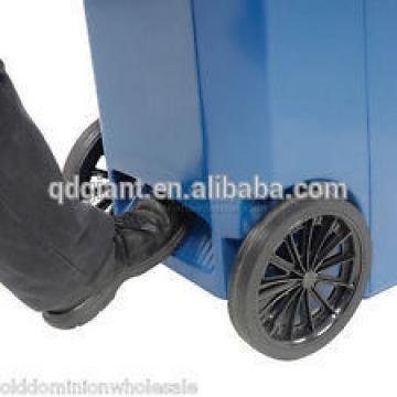 Solid rubber wheel 250mm for 240L trash bin