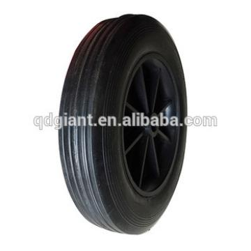 8x2 inch rubber solid wheel
