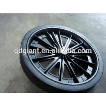 300mm 240l plastic trash cans wheel 12 inch