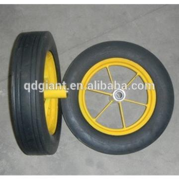 "14""x4"" wheelbarrow nature rubber wheel"