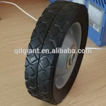 small solid rubber wheel 6inch