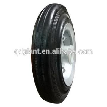 High Quality 7inch small rubber wheels